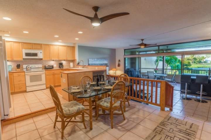 Spacious open floor plan with views from every angle