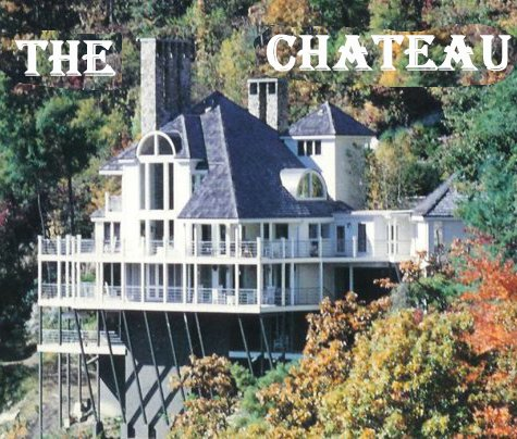 The Chateau surrounded by fabulous fall colors!