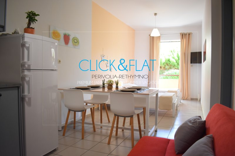 Tenio Flat   Ariadni Click and Flat Perivolia, vacation rental in Rethymnon
