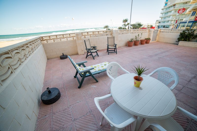Apartamento Voramar frente al mar, casa vacanza a Bellreguard