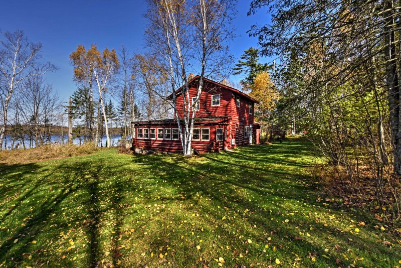 Escape to Bear Lake when you book this vacation rental cabin in McGrath!