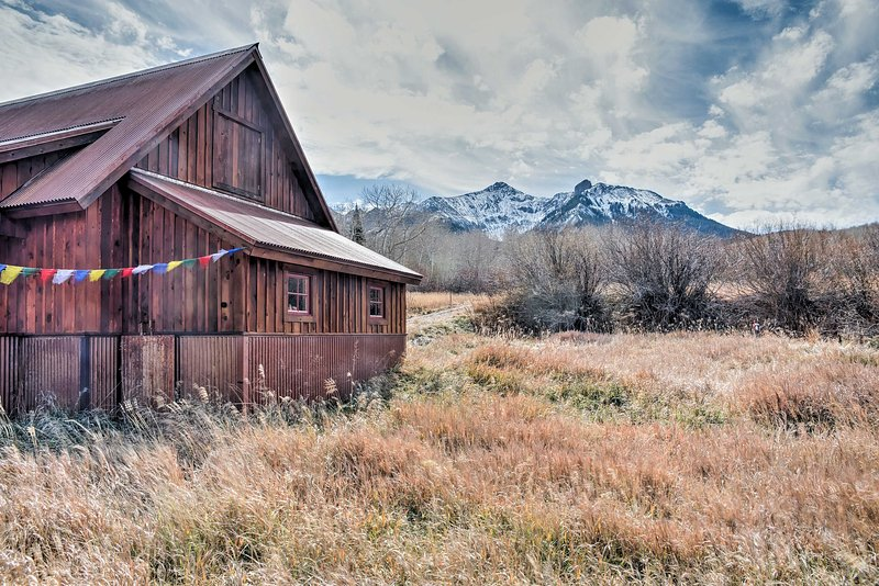 Plan a day trip to visit the historic mining town of Telluride.
