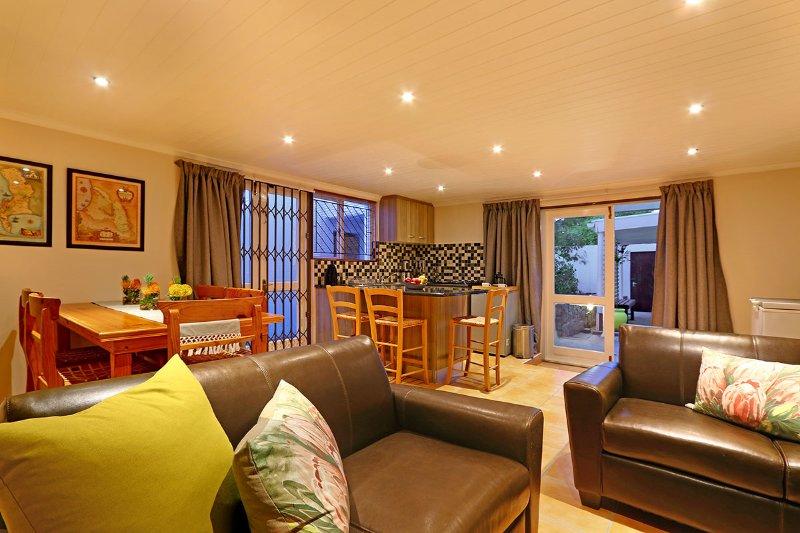 sala de estar Skye Cottage