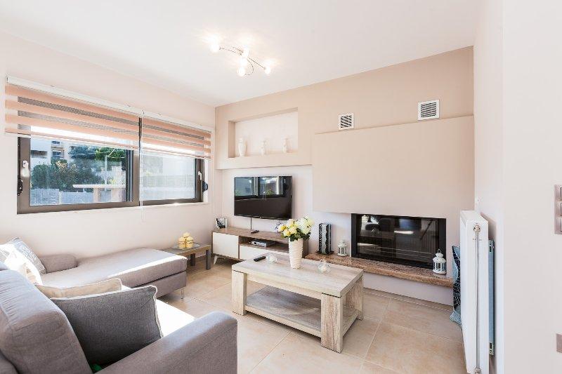 Der Wohnbereich ist ideal für Entspannung und Gelassenheit