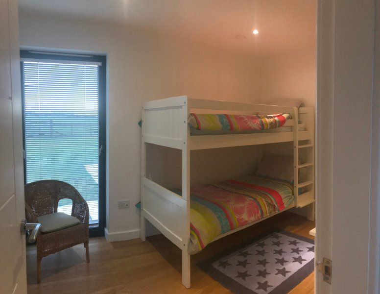 Bunk room. Full size bunk beds.