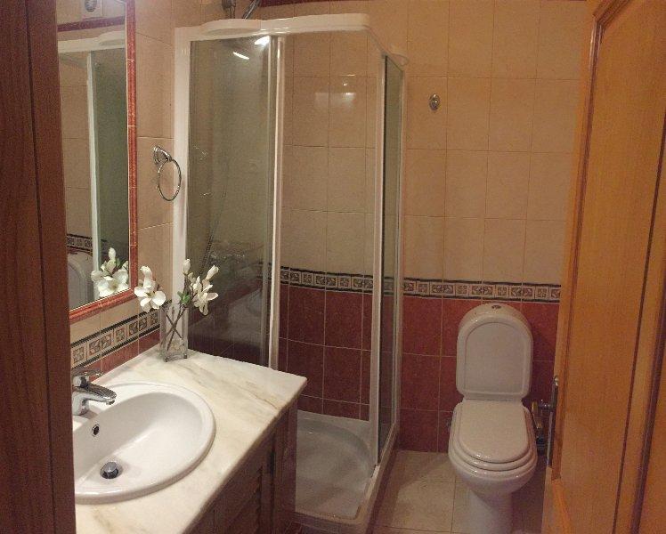 prima doccia piano e WC