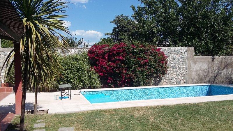 pool, solarium with sun