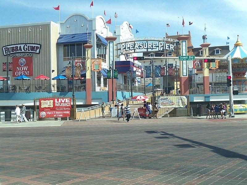 Bubba Gump y Pleasure Pier.