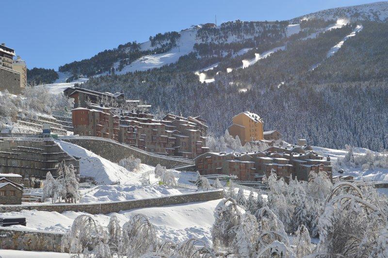 Urbanization after a snowfall