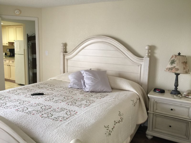 Beautifully Decorated Spacious Unit. Separate Bedroom with Private Balcony/Bedroom. King Bed
