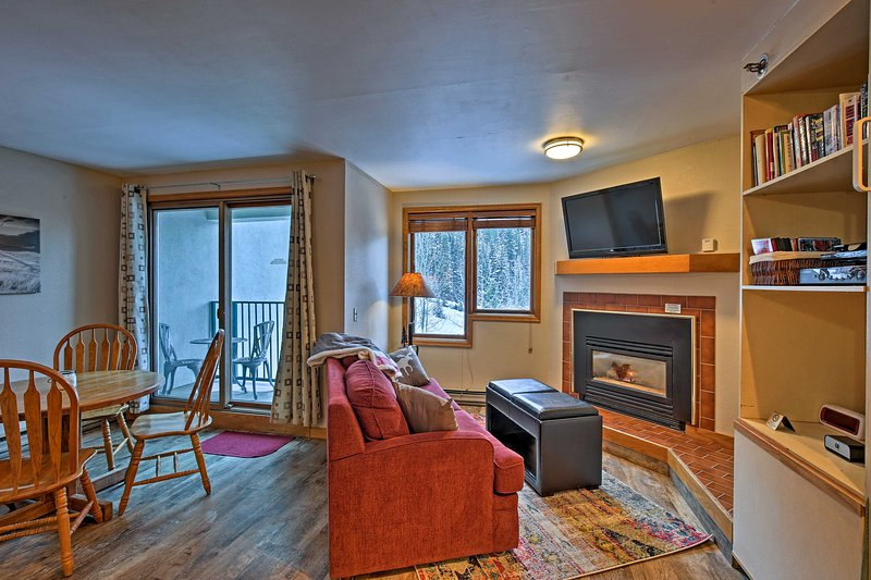 Explore the many alpine adventures of Winter Park from this vacation rental studio!