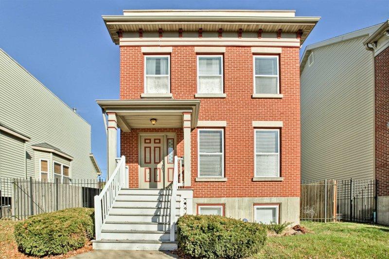 Cette maison de Saint-Louis est à distance de marche de toute l'excitation de la région!