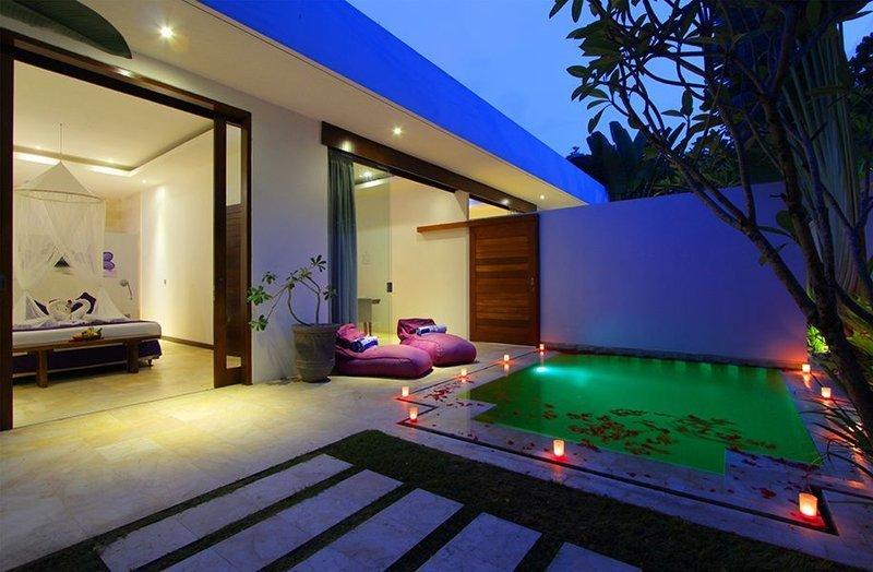 Une Chambre Villa avec piscine privée