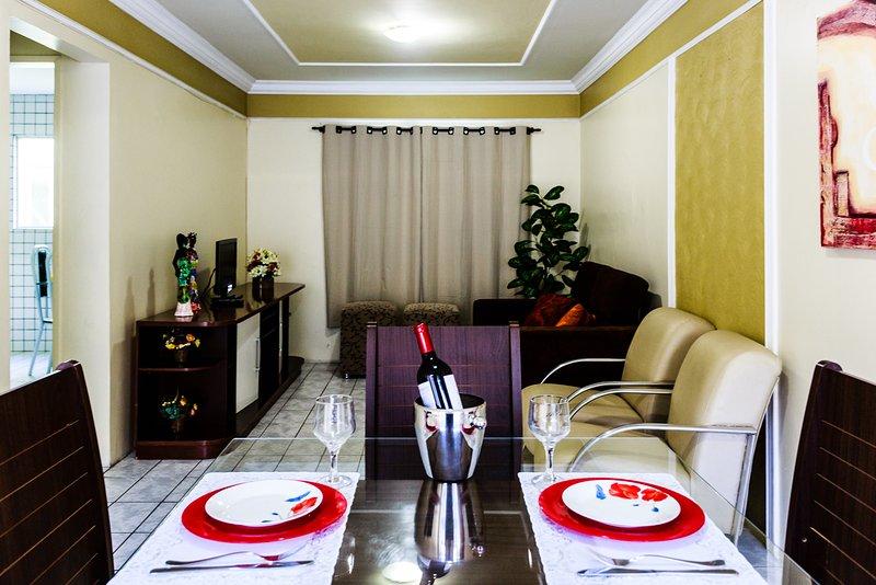 Ótimo apartamento na Ponta Verde, vacation rental in Maceio