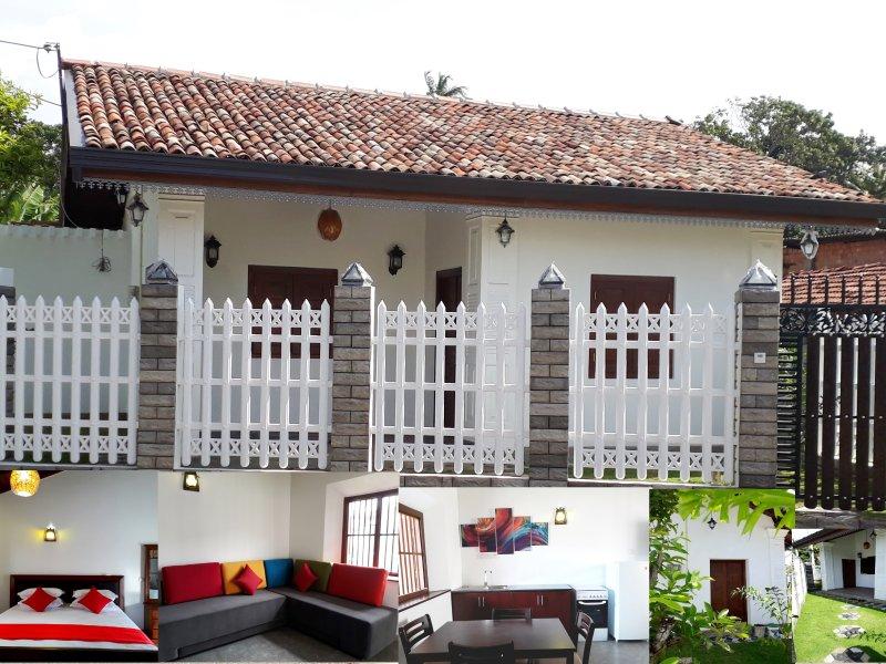 Best Inn Villa Mirissa, Sri Lanka vista de frente.