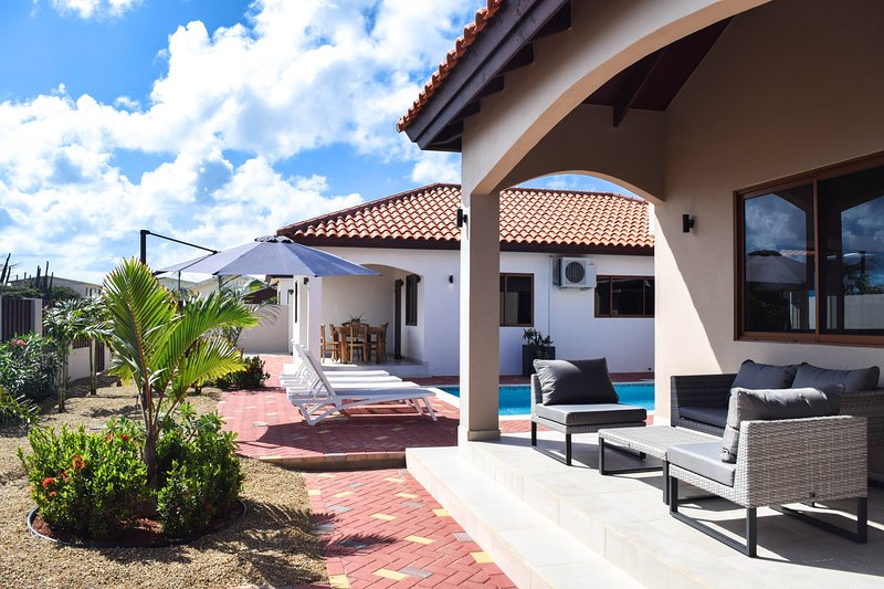 Front Porch of Villa