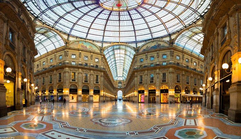 Galleria Vittorio Emanuele II Galerie Vittorio Emanuele II