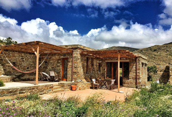 Tinos Eco Lodge in the Cyclades islands, holiday rental in Tinos