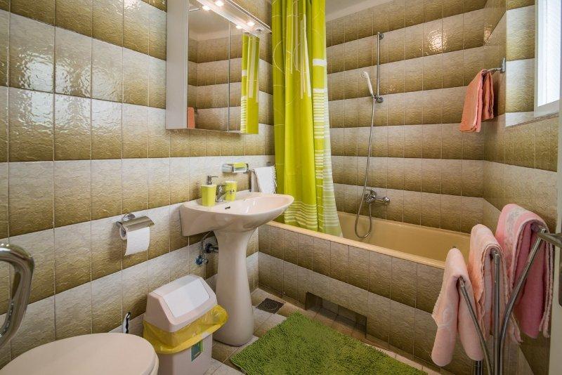 H (4 + 1): salle de bain avec toilette
