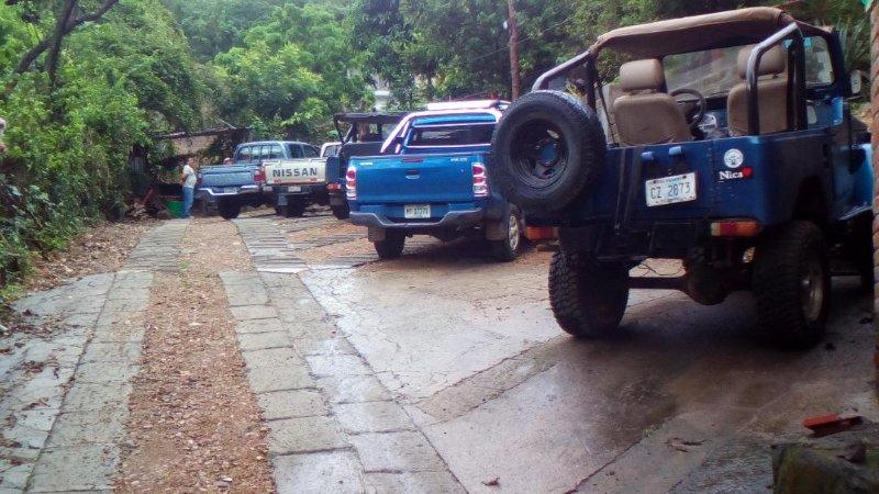 Parking privé dans la propriété.