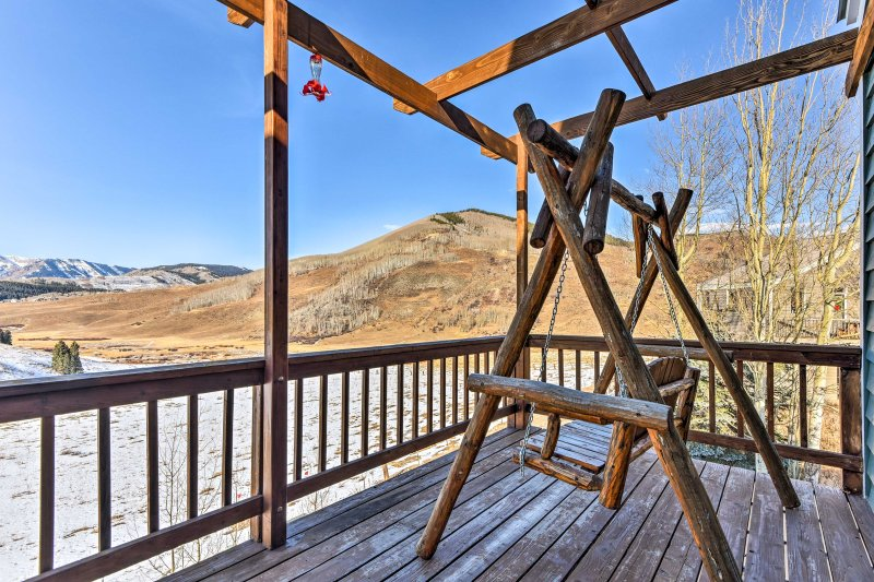Elevate your next alpine retreat with this incredible 3-bedroom, 2-bathroom Mt. Crested Butte vacation rental house!
