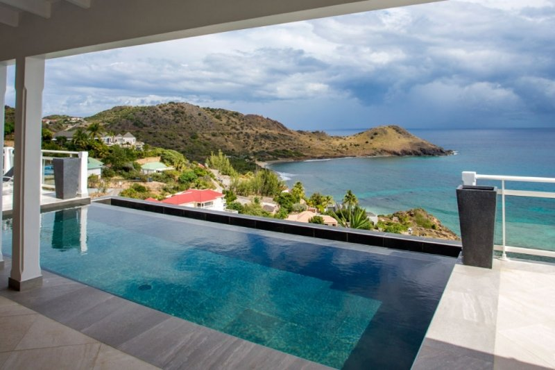 Villa Cacao | Ocean View - Located in Exquisite Toiny with Private Pool, aluguéis de temporada em Toiny