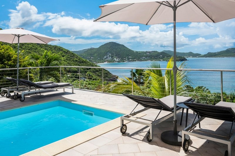 Villa Heloa | Ocean View - Located in Wonderful Pointe Milou with Private Pool, holiday rental in St. Jean