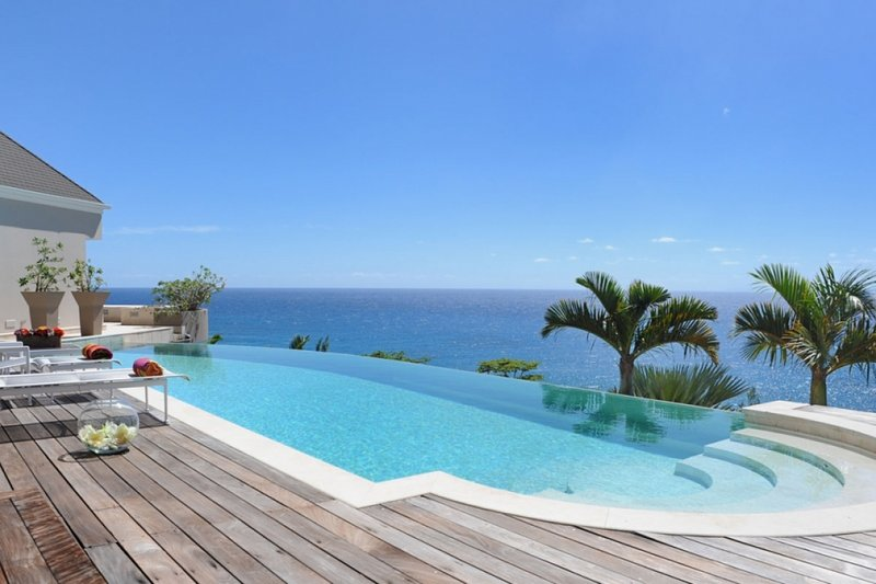 Villa Acamar | Ocean View - Located in Beautiful Toiny with Private Pool, holiday rental in Toiny