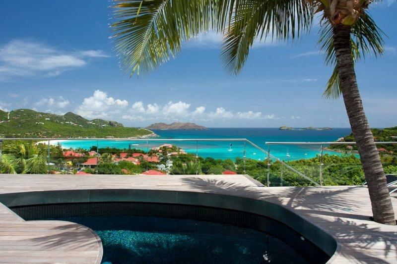 Villa Panama   Ocean View - Located in Beautiful Saint Jean with Private Pool, vacation rental in St. Jean