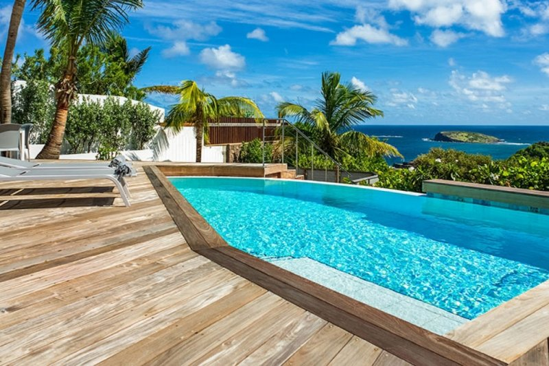 Villa Bonbonniere | Ocean View - Located in Exquisite Pointe Milou with Privat, vakantiewoning in Pointe Milou