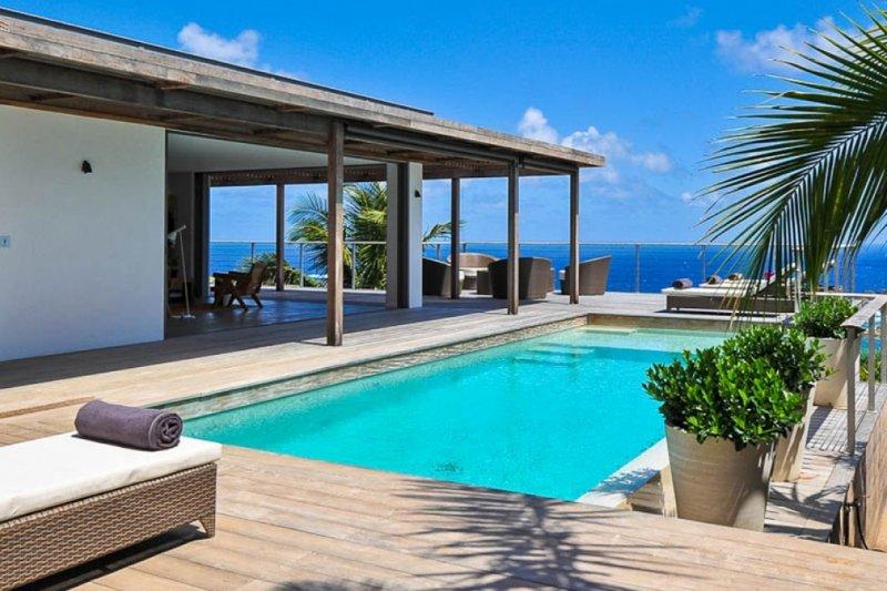 Casa Tigre | Ocean View - Located in Magnificent Vitet with Private Pool, location de vacances à Marigot