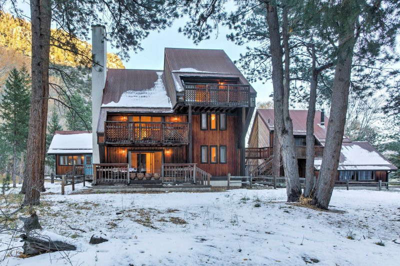 Find your perfect Colorado retreat when you stay at this home in Nathrop!