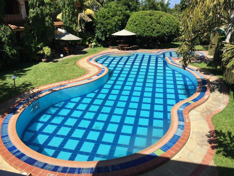 22m piscina al aire libre de largo
