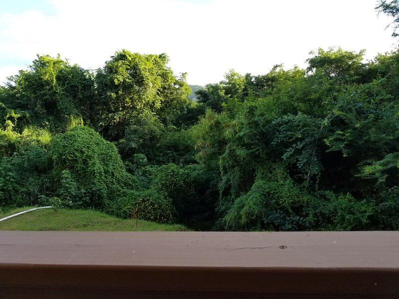 Vista do apartamento varanda