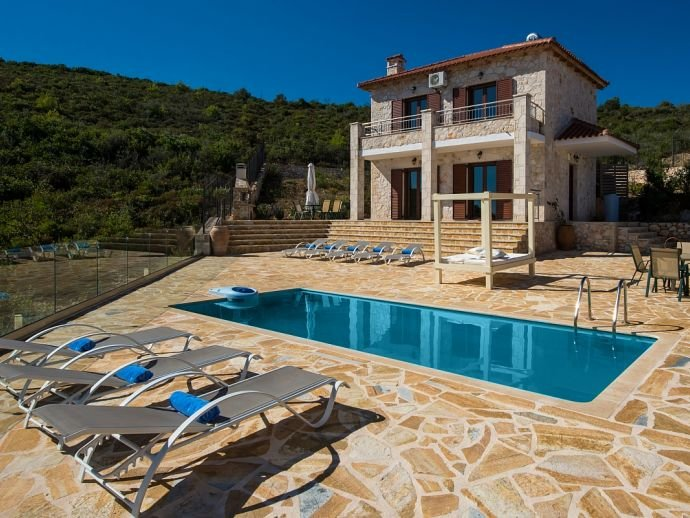 Villa Xygia, vacation rental in Volimes