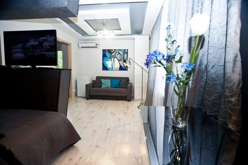 1-room apt. at Berezhkovskaya emb., 8 (026), holiday rental in Vorobyovo