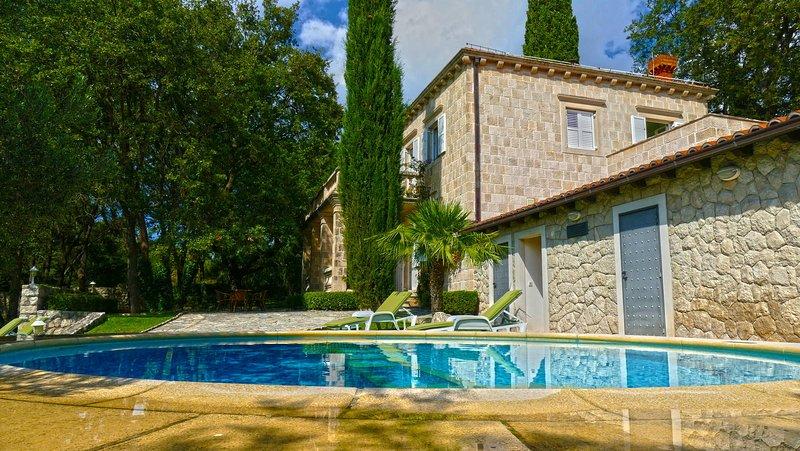 Luxury Villa T&K Heritage with Swimming Pool, location de vacances à Mocici