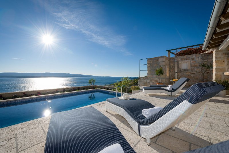 Luxury Villa Blue Pearl with Swimming Pool, vacation rental in Bol
