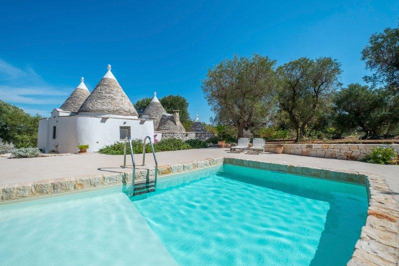 Satia Villa Sleeps 4 with Pool - 5472900 – semesterbostad i Chiobbica