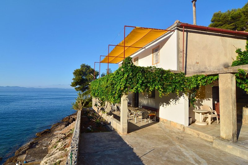 Four bedroom house Cove Lučica, Hvar (K-4034), holiday rental in Gdinj