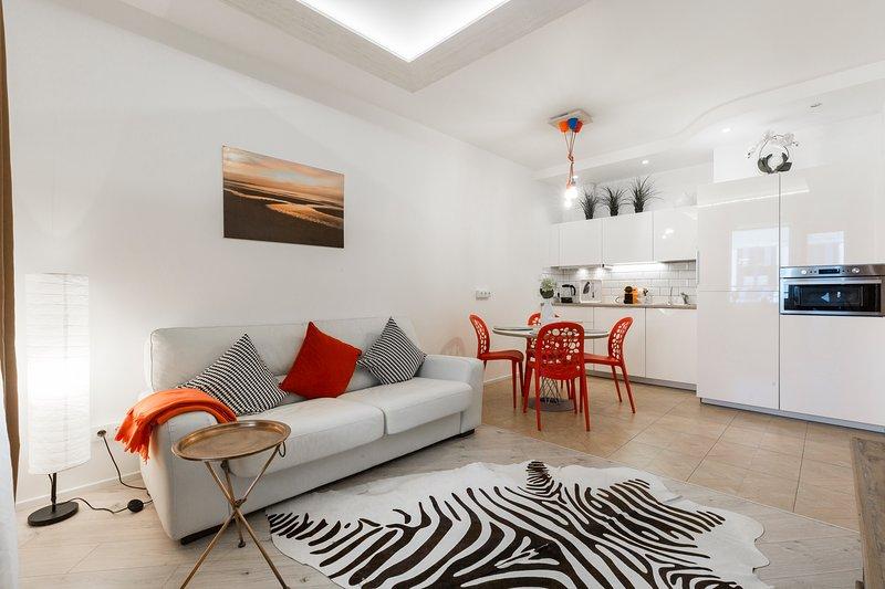 ART apartment near Nevsky Prospect, alquiler de vacaciones en San Petersburgo