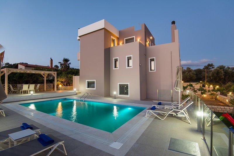 Villa Kalliope Crete, holiday rental in Adelianos Kampos