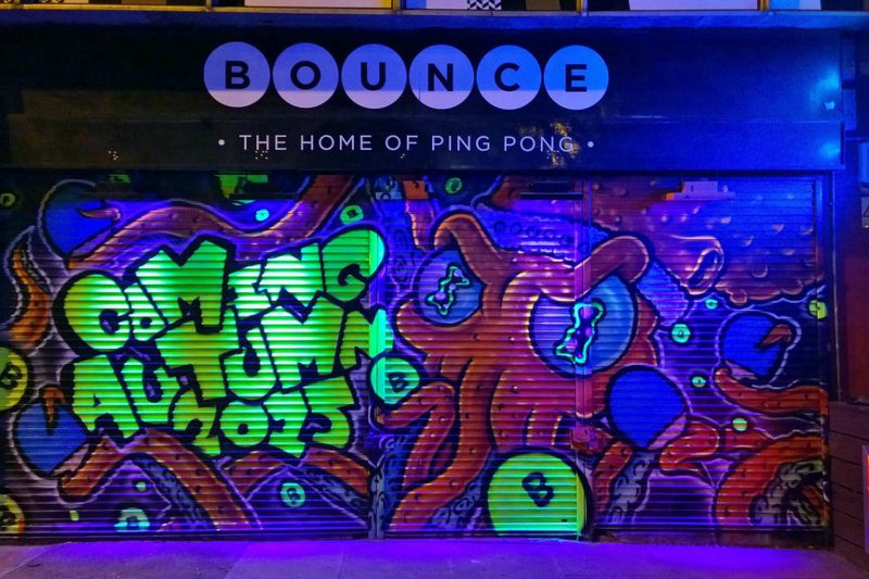 Bounce, Shoreditch