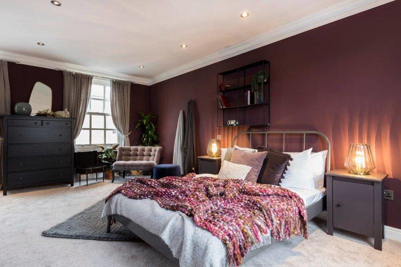 Amplia sala de cama