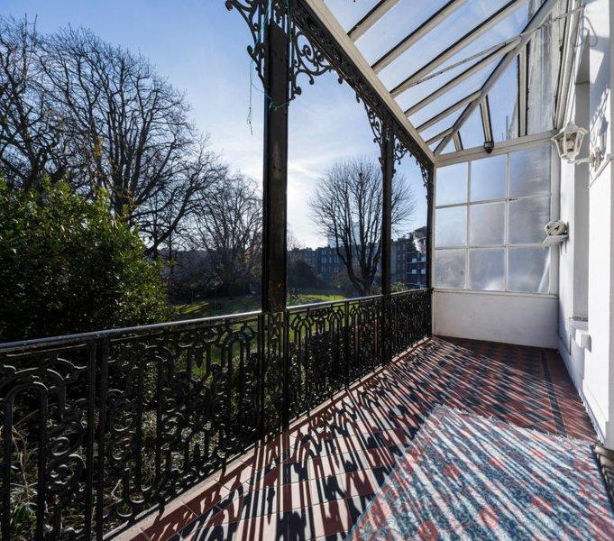 El balcón privado