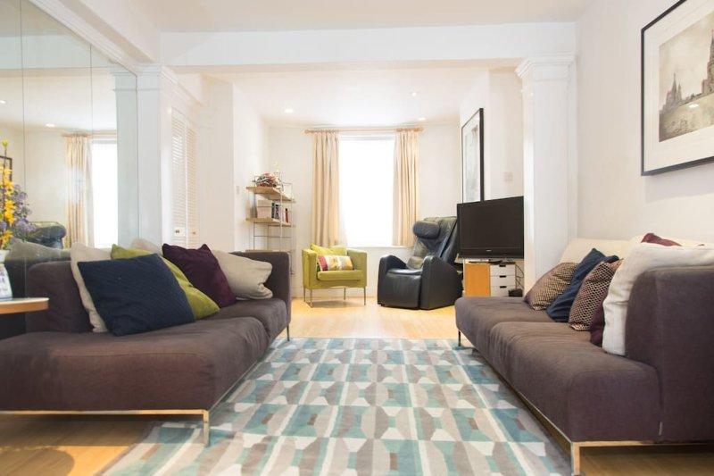 Nicely furnished living room