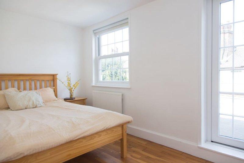 Bedroom 2 with comfortable mattress