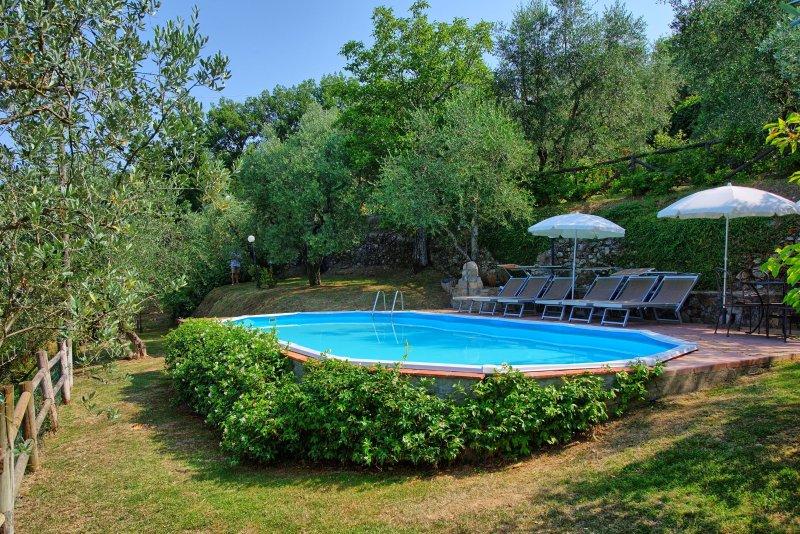 Grotta Giusti Villa Sleeps 6 with Pool Air Con and WiFi - 5241282 – semesterbostad i Montevettolini