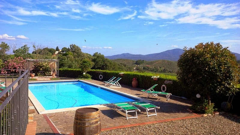 Il Poggiolo Holiday Home Sleeps 12 with Pool and WiFi - 5226710, holiday rental in Roccastrada