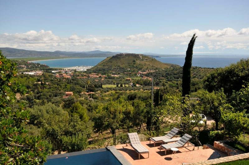 Cala Galera Villa Sleeps 10 with Pool Air Con and WiFi - 5218530, vacation rental in Porto Ercole